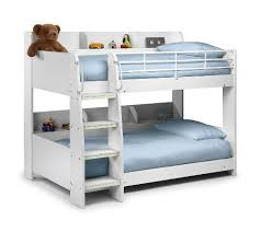 White Bunk Beds With Mattresses Amazoncouk - White bunk bed with desk