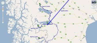 Patagonia Map Traveling Bones Argentina Apr 3 12 15 19 May 2 4 U002711