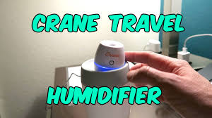 crane travel humidifier product review ultrasonic cool mist youtube