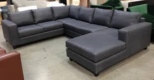 Straight Sectional Sofas Sofa U Love Custom Made In Usa Furniture Leather Leather