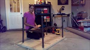 pvc pipe table youtube