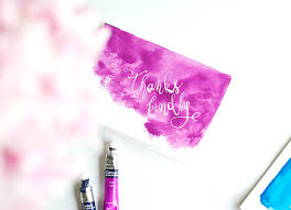 handmade watercolor cards diy watercolor thank you cards design sponge
