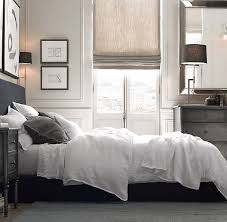 garment dyed textured linen bedding collection