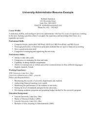 Example College Application Resume by University Admission Resume Sample Free Resume Example And