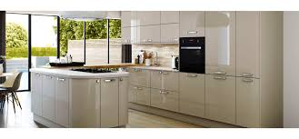 Kitchen European Style Modern High Gloss Kitchen Cabinets Design