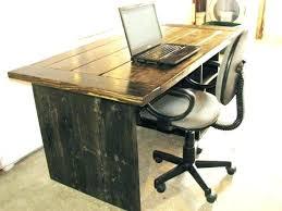 Quality Desks For Home Office Quality Computer Desks For Home Sherwood Oak Single Pedestal Desk