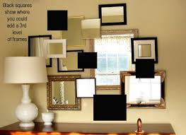how to create a 3 d mirror gallery wall in my own style