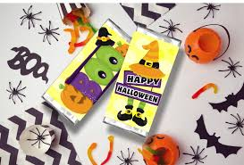 Halloween Party Ideas For A Bar by Witch U0027s Legs Halloween Candy Bar Wrapper Everyday Parties