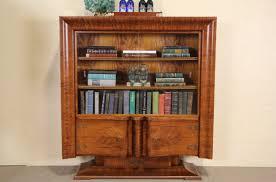 sold art deco 1930 u0027s italian china cabinet or bookcase sliding