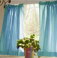 Kitchen Cafe Curtains Ideas Gingham Check Kitchen Cafe Curtains Wholesale Or Dropship Purchase