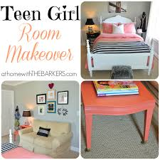 teen room makeover collage at home with the barkers