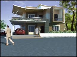African House Plans by Elevation And Floor Plan Of Contemporary Home Indian House Plans