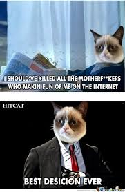 21 Of The Best Grumpy - sophisticated grumpy cat by gin pratama meme center
