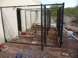 wood working idea garage dog kennel plans