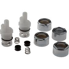 Delta Bath Faucet Cartridge Replacement Delta Stem Cartridge Repair Kit Rp42096 The Home Depot