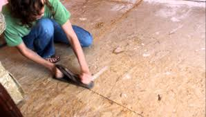 Put Down Laminate Flooring Preparing Subfloor So We Can Put Down Hardwood Laminate Flooring