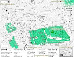 london maps top tourist attractions free printable city
