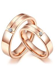 fashion couples rings images Simple couple rings in rose gold couples wedding rings ic rings jpg