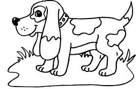 dog coloring pages cute puppy coloringstar