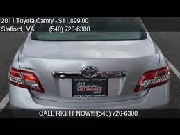 2011 toyota xle for sale 2011 toyota camry xle v6 6 spd at 6 speed automatic for sale