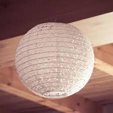 Paper Lantern Pendant Light Paper Lantern Shades Senalka