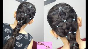 simple hairstyles with one elastic elastic bands hairstyle part 2 sport hairstyles cute