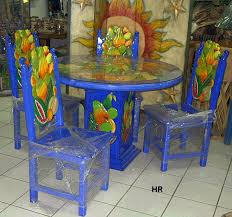 mexican dining table set dining tables carved and painted mexican furniture hacienda