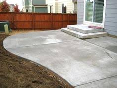 Concrete Backyard Ideas Cement Patio Concrete Patio Minneapolis Twin Cities Mn