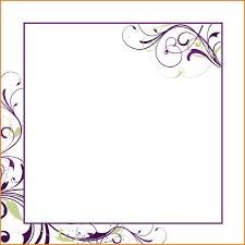 blank invitation templates blank wedding invitation templates