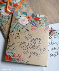 25 unique birthday cards ideas on diy birthday