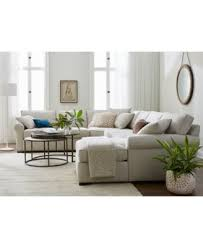 macys furniture sofas astra 5 piece sectional with chaise created for macy u0027s