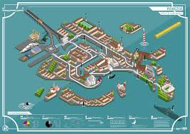 venice map venice the map sushi design studio