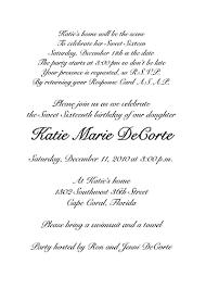 formal invitation wording sweet sixteen invitation wording az photos sweet sixteen sle