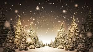 christmas trees and snow christmas lights decoration