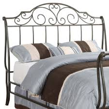Metal Sleigh Bed Oxford Creek Size Metal Sleigh Bed Home Furniture
