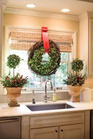 christmas decorating ideas for the kitchen festive christmas wreath ideas southern living