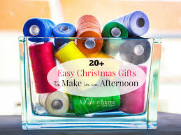 easy christmas gifts to make in an afternoon