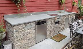 outdoor kitchen island outdoor kitchen and bbq island kit photo gallery oxbox