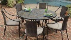 stone patio table top replacement phenomenal fauxone patio table top replacement picture inspirations