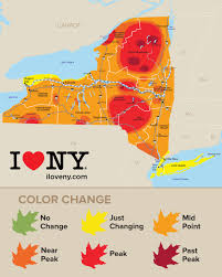 Finger Lakes New York Map by Fall Foliage In New York Autumn Leaves Scenic Drives