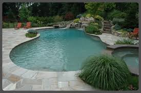 Inground Pool Landscaping Ideas Best Small Inground Pool Cool Inground Swimming Pool Designs Ideas