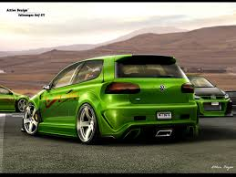 green volkswagen golf volkswagen golf gti by active design deviantart com on deviantart