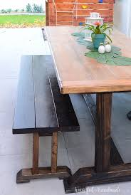 outdoor dining table plans outdoor dining table plans a houseful of handmade