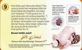 tutorial sholat dan bacaannya gambar tuntunan shalat sesuai sunnah rasulullah9 sunnah
