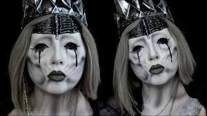 undead wraith queen halloween makeup tutorial ft alex faction