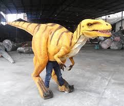Halloween Costumes Sales Velociraptor Halloween Costume Sale U2013 Animatronic Dinosaur Costume