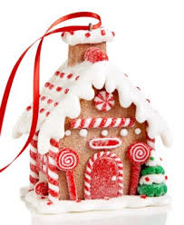 gingerbread house ornament created for