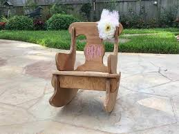 rocking chairs custom wild ponies