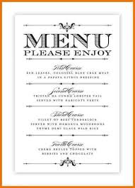 simple menu template free restaurant menu template psd best and various templates ideas