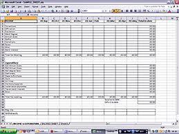 Treasurer Spreadsheet Sle Spreadsheet For Treasurer S Provincial Grand Royal Arch